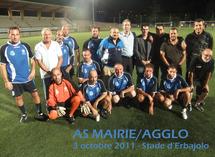 Premier match de l'AS Mairie/Agglo