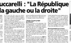 Corse Matin revient sur le cuntrastu du 25 octobre 2015