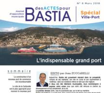 Le Grand Port de la #Carbonite bloqué depuis 4 ans de manière scandaleuse par les exécutifs territorial et municipal doit être acté définitivement et lancé sans délai. Retrouvez notre journal d'opposition municipale n°8 entièrement consacré à projet indispensable à Bastia et à la Corse.