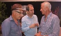 Jean Zuccarelli, aux côtés de Tony Baldrichi (à droite sur la photo), co-fondateur de Porto Latino