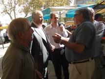 Visite de Jean-Michel Baylet à Bastia