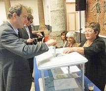Jean Zuccarelli, lors du second tour des primaires citoyennes, s'est exprimé et a appelé à voter en faveur de François Hollande
