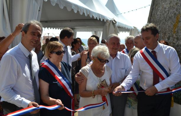Santa Maria di Lota : Inaugurations du parking municipal et de la chapelle Mont Carmel rénovée