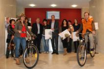Remise des prix aux vainqueurs de l'opération « Mon commerçant, Mon environnement » à Bastia