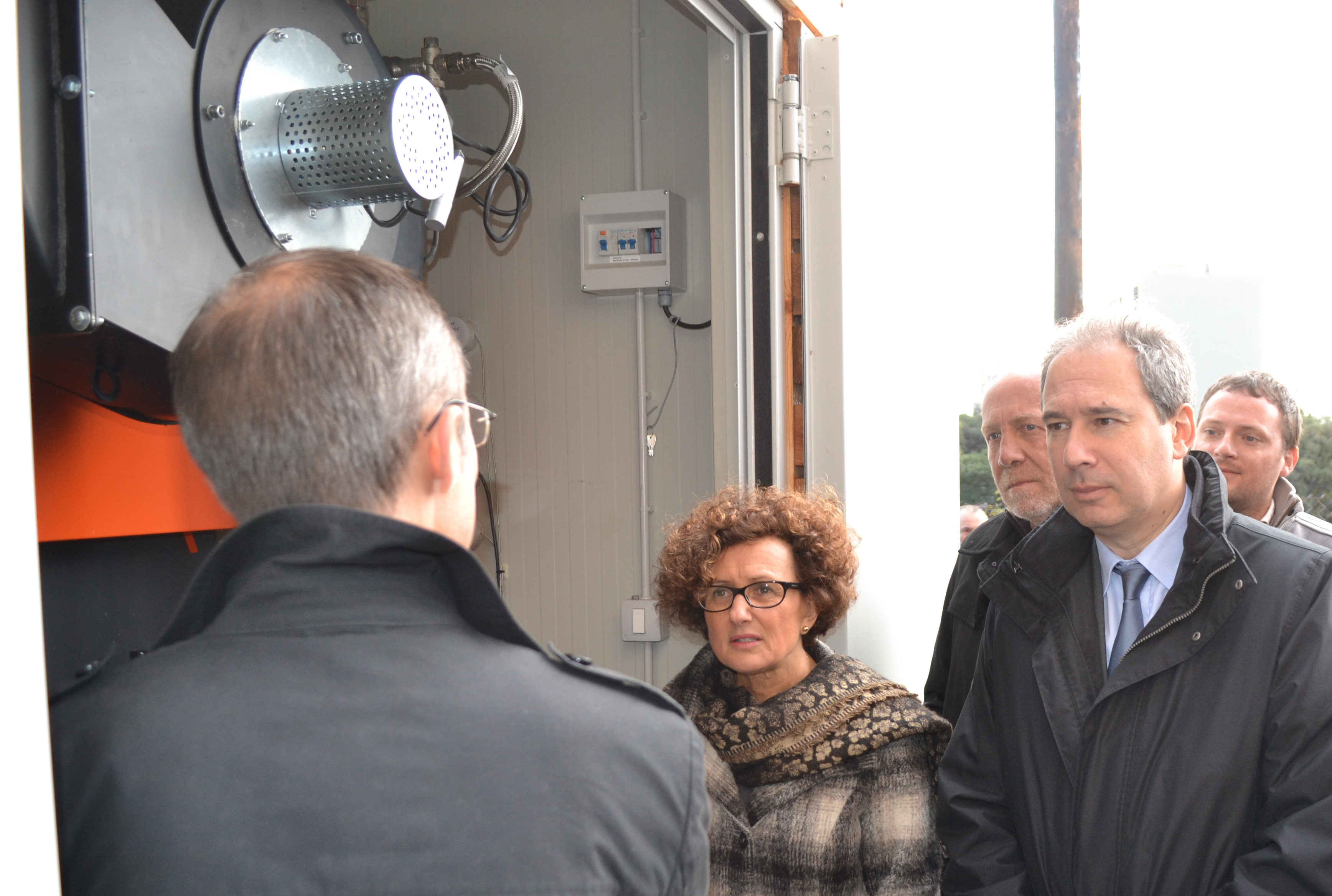 Inauguration de la première installation issue de l'appel à candidatures « 25 chaudières bois en Corse »