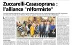 Interview conjointe avec Francois Casasoprana - Corse Matin 24/07/2015