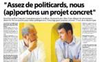 """Interview de Corse Matin: """"nous somme la seule garantie républicaine""""."""